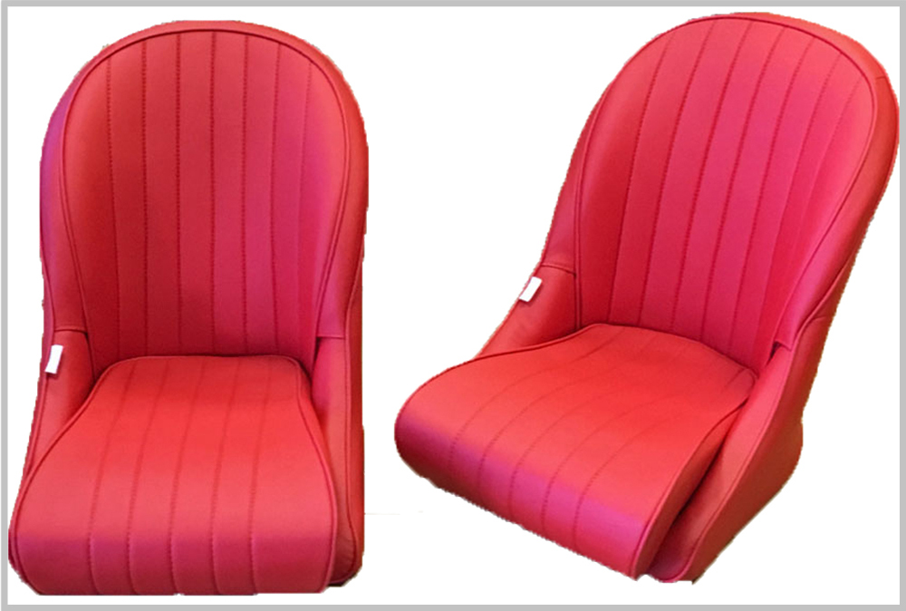 BB Vintage Round Back Classic Car Seats