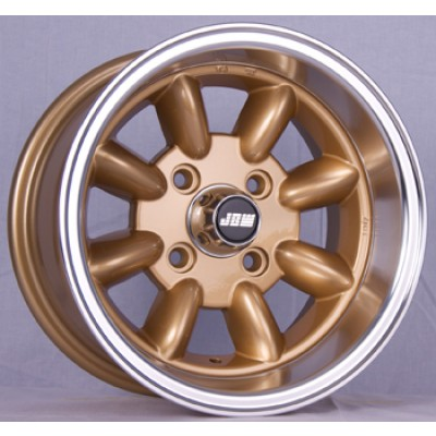 13.7 gold vw golf alloy wheels